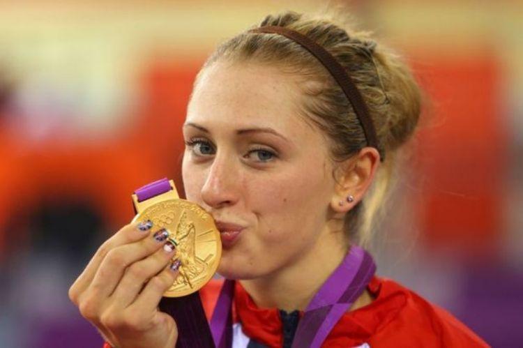 Laura Trott adalah pemenang medali emas untuk cabang sepeda di Olimpiade London.