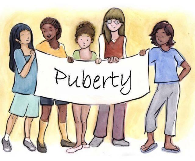 puberty hood