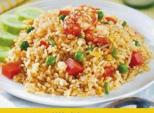 Nasi goreng plus sentuhan oriental
