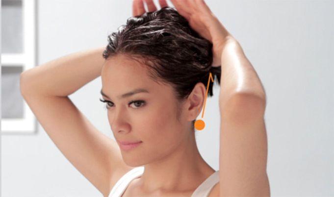 Gerakan creambath untuk merawat rambut