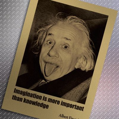 Imaginaton is more important than knowledge