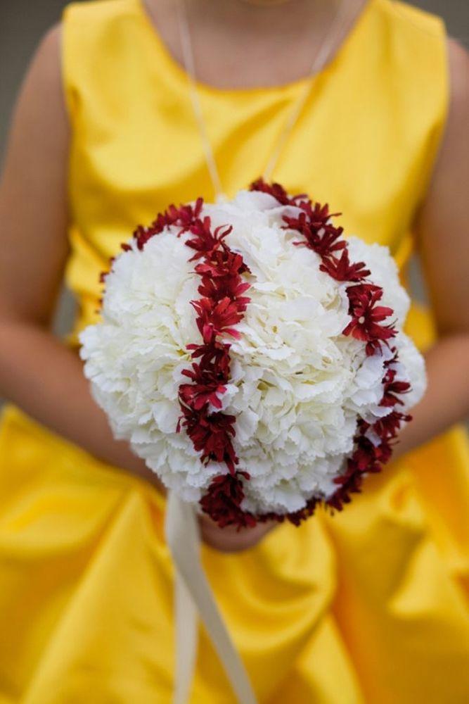 Buket pernikahan unik