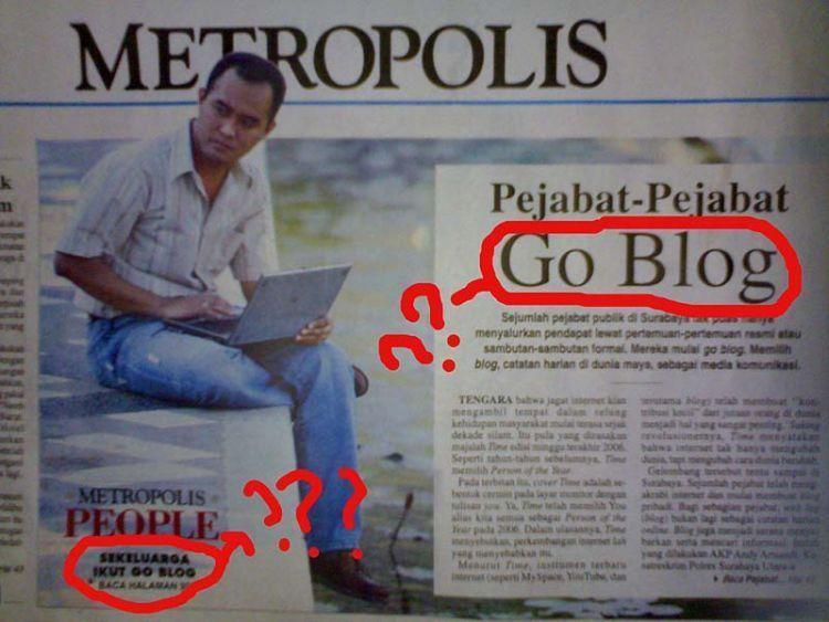 Go blog?