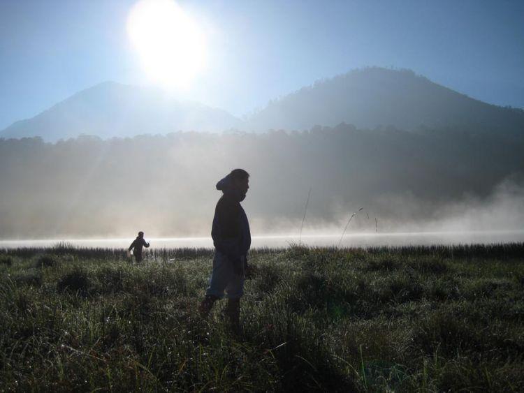 Menjemput kabut di Danau Taman Hidup, Gunung Argopuro