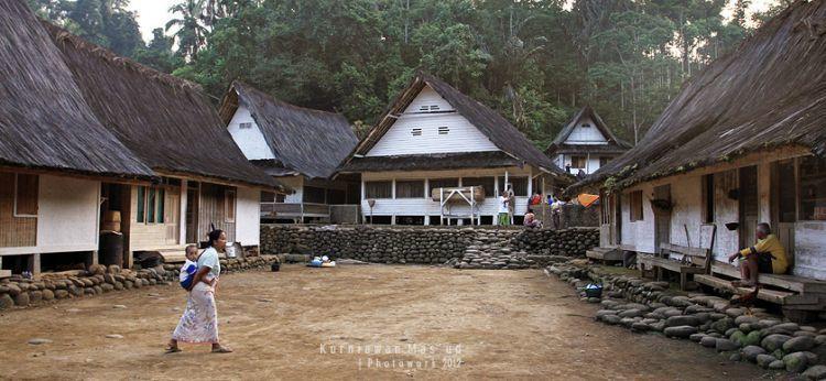 Salah satu sudut Kampung Naga