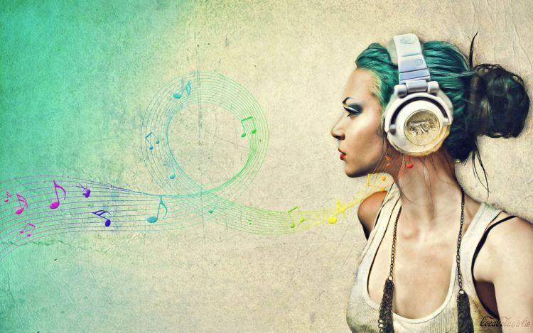 Dengerin musik juga bisa