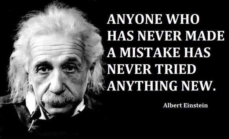 Einstein pun gagal berkali-kali