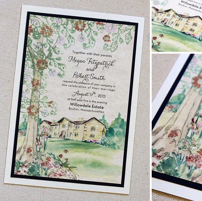 Desain undangan pernikahan yang unik buatan sendiri