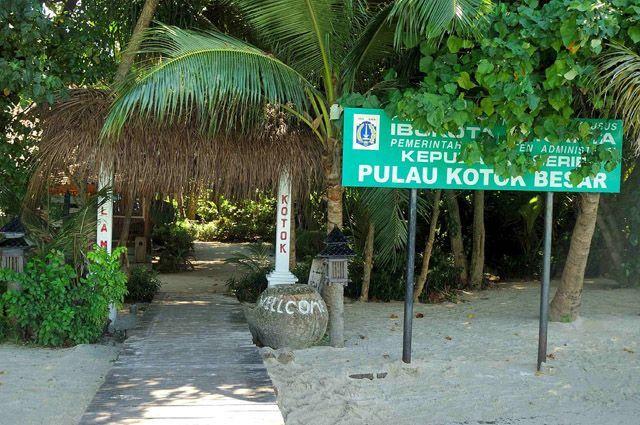 salah satu Resort di Kepulauan Seribu