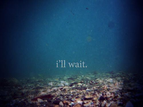 Aku akan menunggu