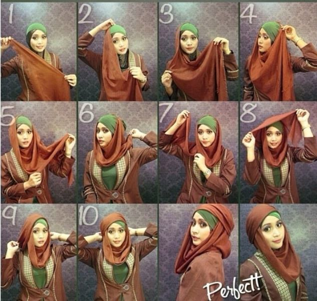 tutorial hijab untuk kondangan