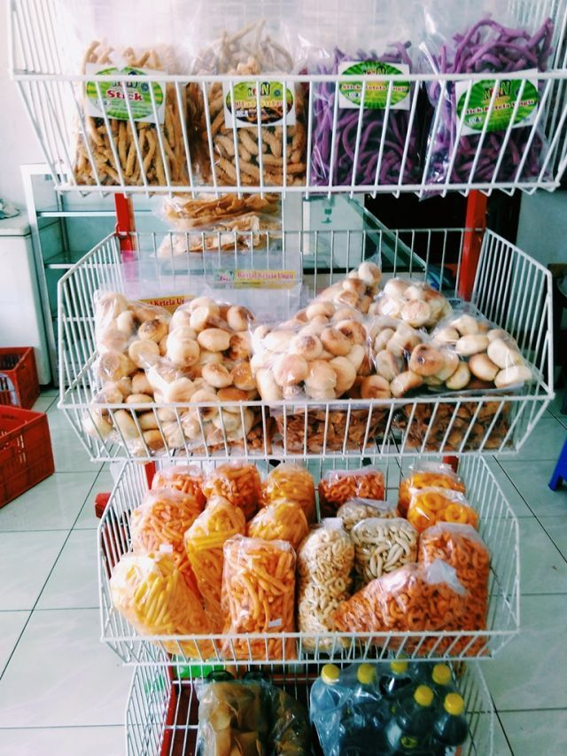 Snack tradisional dengan varian yang beragam