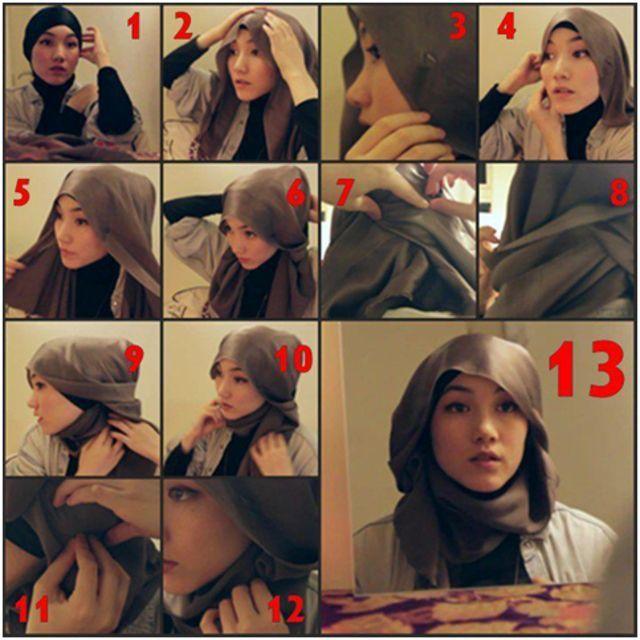 Tutorial hijab buat kamu yang ingin kondangan