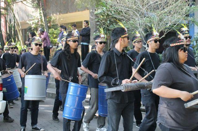 Permainan musik tradisional khas Desa Wisata Tingkir Lor