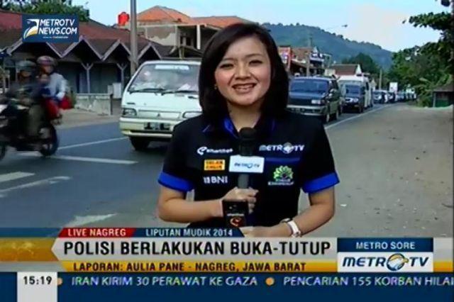 Eh, si Mbak muncul di tv!