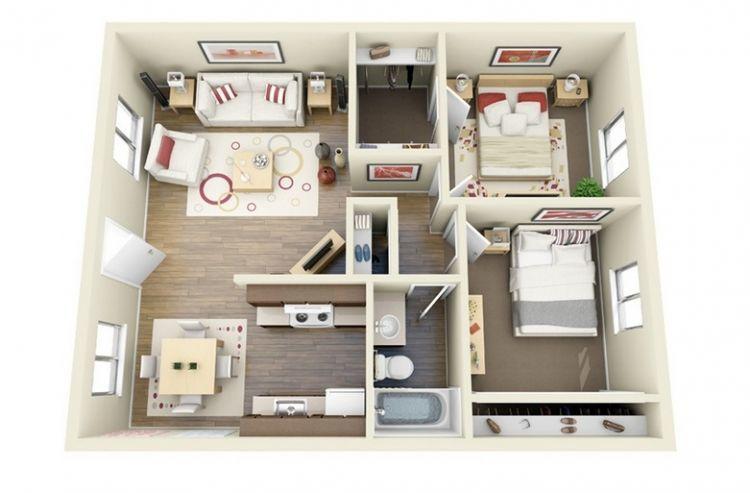 Desain rumah modern untuk masa depan