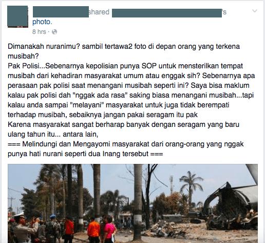 Ungkapan kekecewaan netizen
