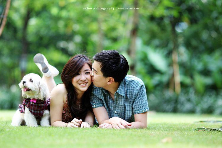 Bukankah cinta yang bertahan adalah cinta yang tenang?