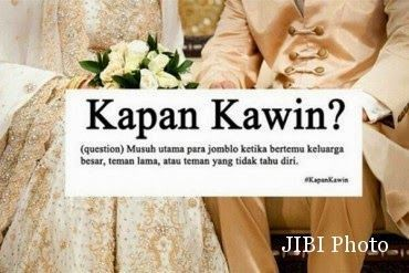 Kapan kamu nikah?