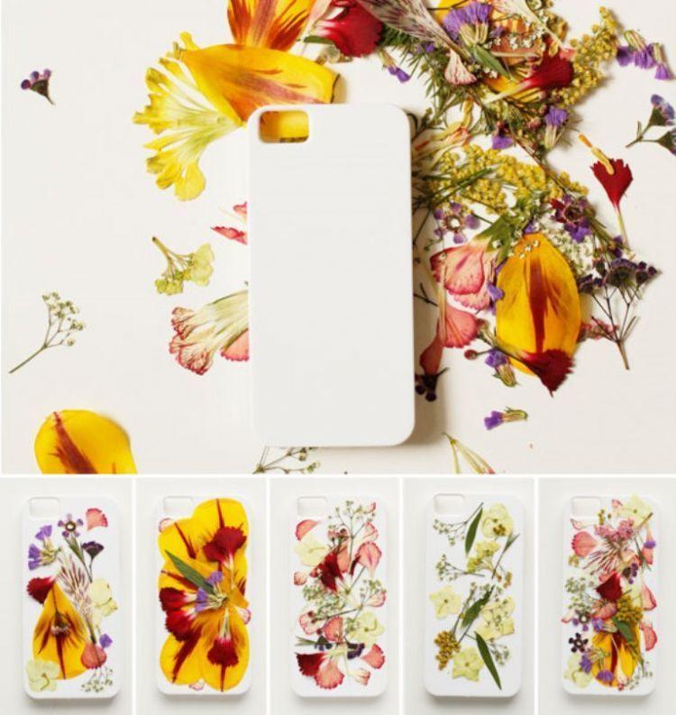 Gadget case bunga. Cara mengawetkan bunga
