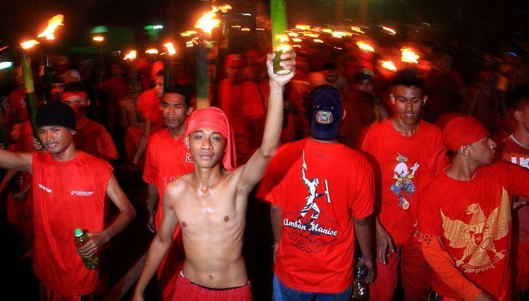 Bukan foto kerusuhan tapi pas perayaan Patimura