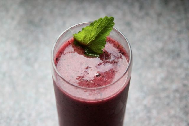 Bluberry Pear Smoothie