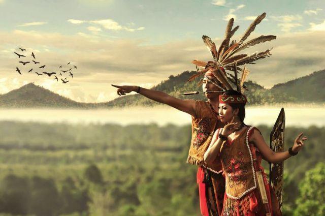 Pakaian Tradisional Dayak Ngaju