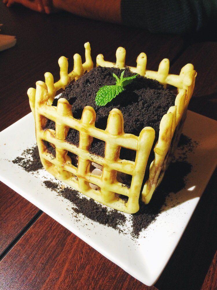 Resep es krim tanah