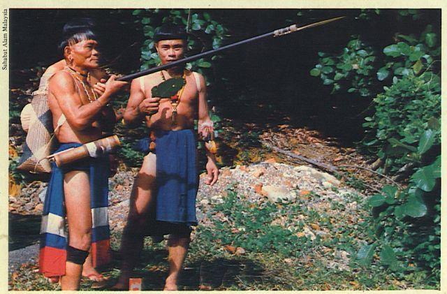 Pakaian Tradisional Dayak Punan