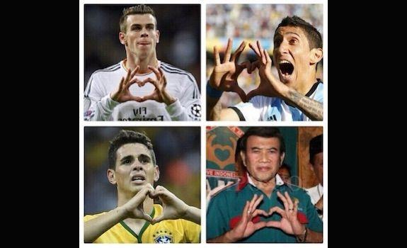 Dukungan dari luar negeri