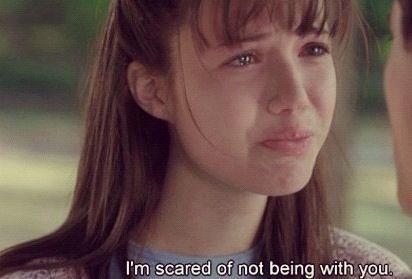 walaupun aku harus menangis seumur hidup, aku rela