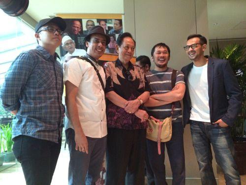 Hanung dan tim film Mencari Hilal