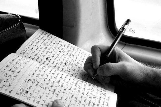 Menulis tak lagi bisa menjadi pelepas stres