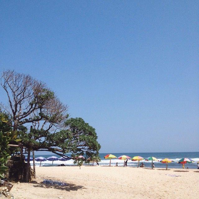 Pantai Pok Tunggal dengan Pohon Duras nan legendaris menanti didatangi (Kredit: @rezapradinata)