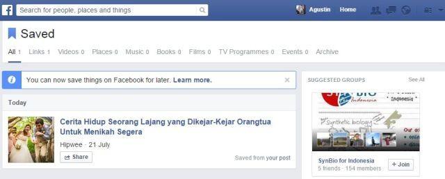 Tips dan trik facebook