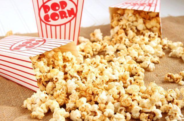 Hasil gambar untuk popcorn madu mentega coklat