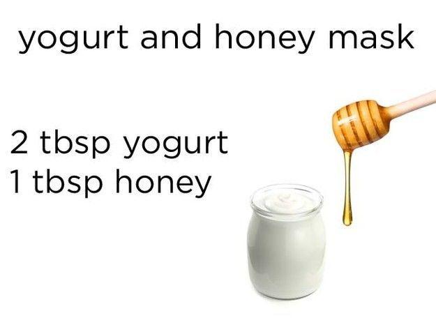 Masker dari madu dan yoghurt