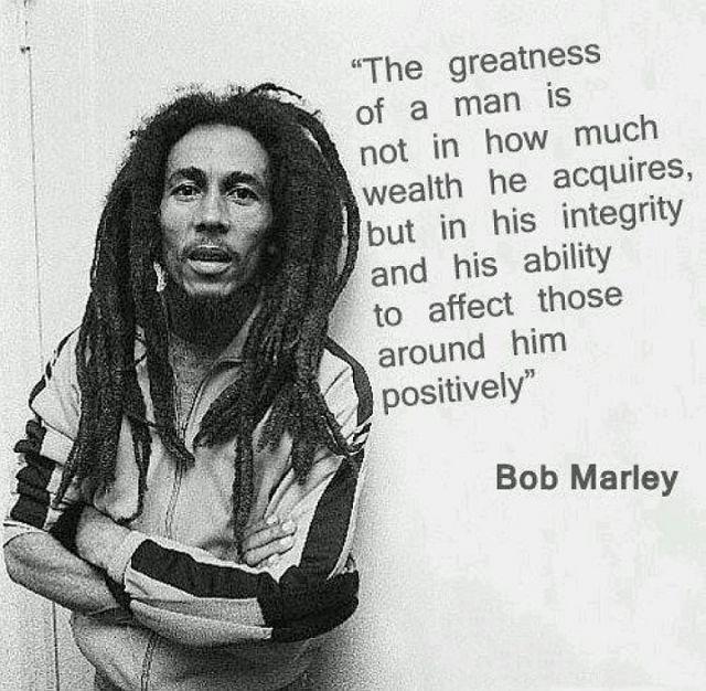 Hey yo Bob Marley!