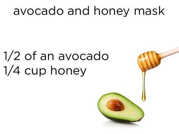 Masker dari buah alpukat dan madu