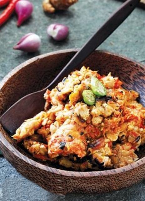 Tips resep sambal tempe mentah