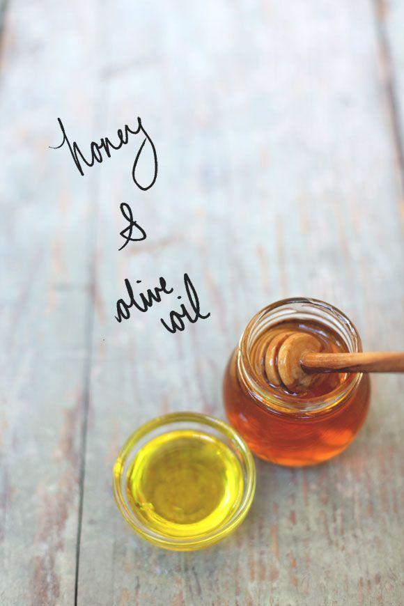 Madu dan minyak zaitun