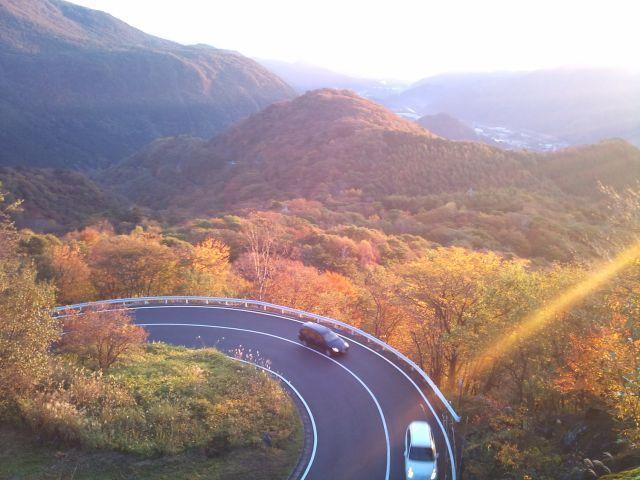 Irohazaka Road yang berliku