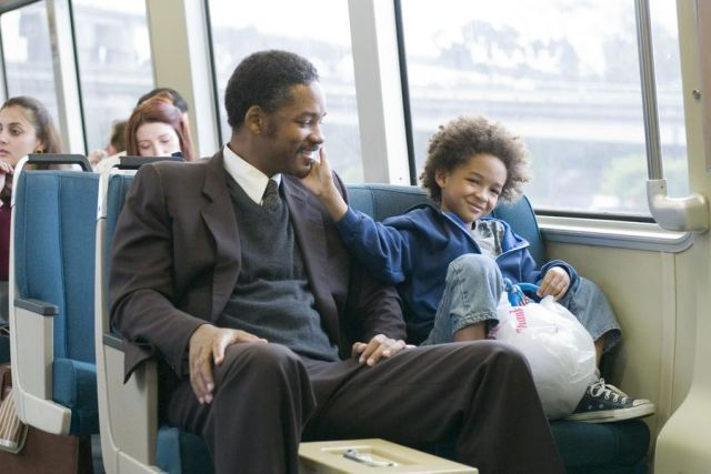 Pursuit of happyness.
