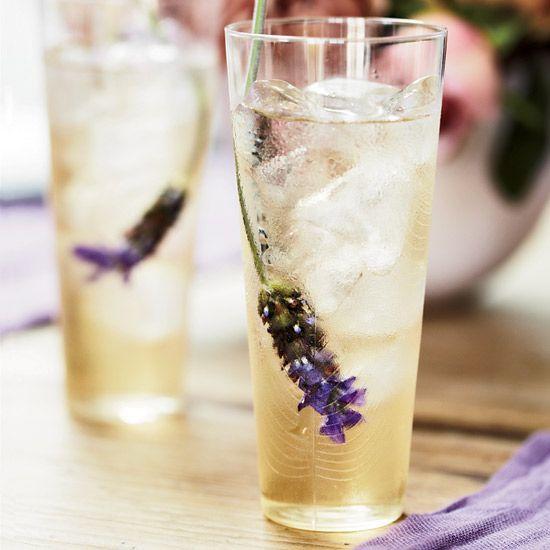 Lavender iced tea!