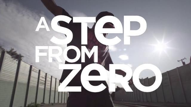 a step from zero