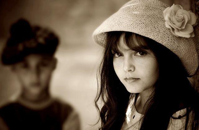 boy and girl angry