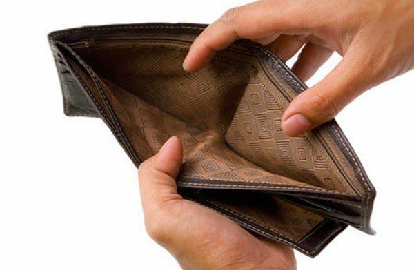 Uang saku cuma lewat