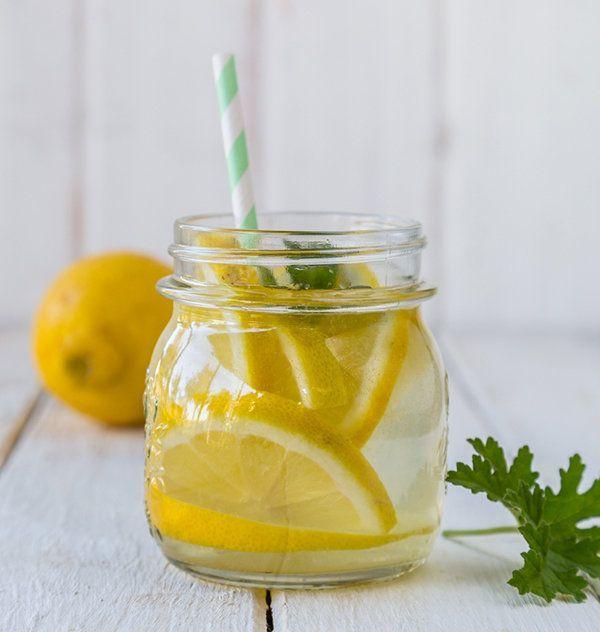 Lemon Ginger Flat Belly Drink. Yuum!