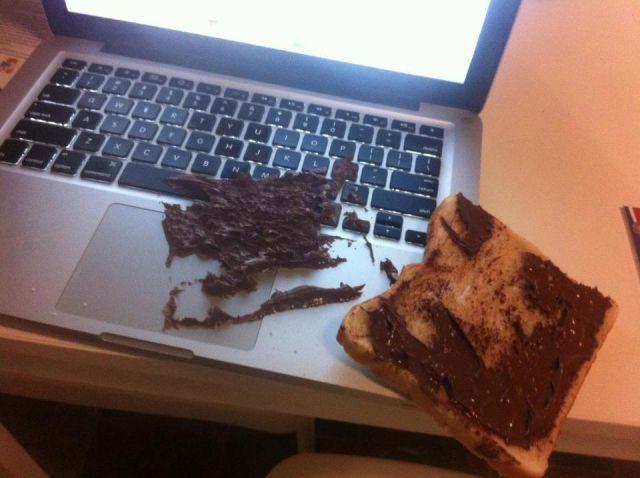 Apple cokelat