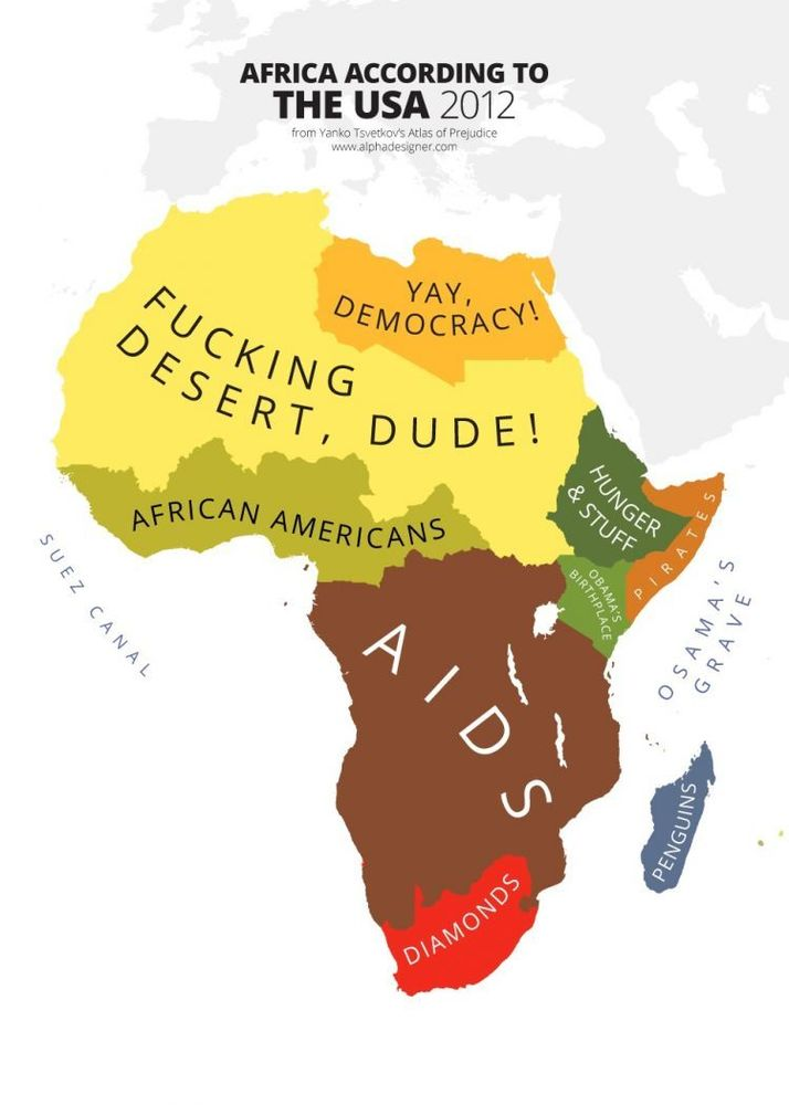 Africa according to Americans